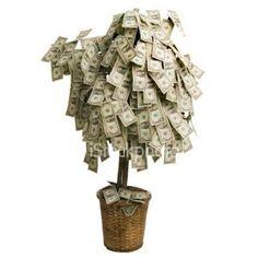 Money Tree 2 - Milestone Birthday Ideas - too bad it'll only have 30 bucks on it! LOL