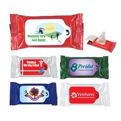 Are you going on a road trip for the 4th? These Antibacterial Wet Wipe Packet with Personalization are perfect to throw in your glove box or travel bag!