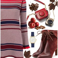 Sweater Dress by ana3blue on Polyvore featuring мода, Misha Nonoo and Chloé