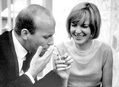 Ingeborg Bachmann und der Komponist Hans Werner Henze
