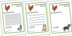A lovely writing activity for your class, allowing your children to display their understanding of the story. What will the animals say to the Litte Red Hen? Short Stories Online, English Short Stories, Little Red Hen Activities, Ks2 Classroom, Traditional Tales, Primary Resources, Interactive Stories, English Reading, Little Pigs
