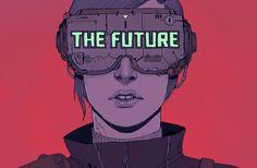 """""""The Future is Now"""", ilustraciones de un futuro cercano por Josan Gonzalez"""