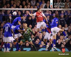Vermaelen Scores vs Everton 2012.