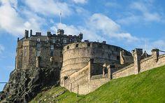 Blick auf #Edinburgh #Castle © Elisabeth Königshofer
