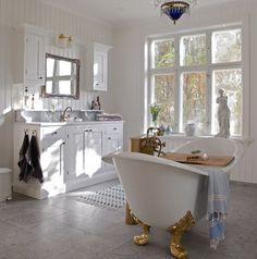 .. Freestanding Tub Filler, Clawfoot Bathtub, Instagram, Bathrooms, Bathroom, Full Bath, Bath