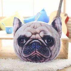 Съемная форма собаки Шарпей с короткими плюшевыми губками