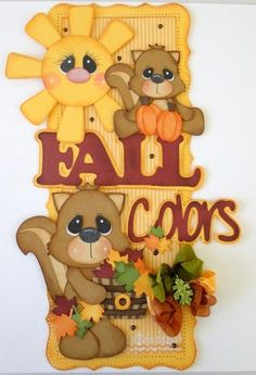ELITE4U Vertical Border Fall Colors Pre-Made Paper Piecing danderson651 | eBay