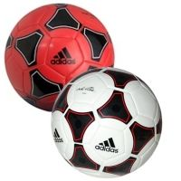 The AdiPure Glider football from adidas is a great value ball, ideal for training.. Machine stitched construction with nylon winded carcass/TPU gives the Glider ball soft touch and excellent durability.