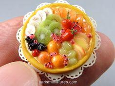 Paris Miniatures: Miniature Fruit Tart