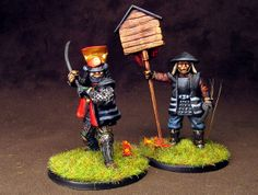 General Lead Adventure, Reference Images, Samurai, Miniatures, Japanese, Army, Painting, Models, Inspiration