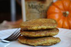 Gluten Free-Vegan Pumpkin Pancakes | Tessa the Domestic Diva