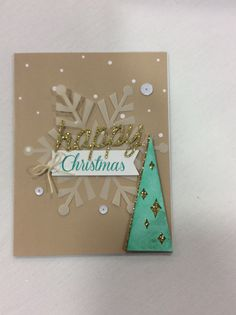 Stampin' Up! demonstrator Shaila S's project showing a fun alternate use for the Watercolor Winter Simply Created Card Kit.