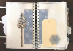 daily december idea....It is a Journal you keep up to the days of Christmas....I am going to keep it for our trip to California