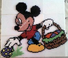 Mickey Easter hama beads by decokdonat