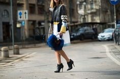 On the Streets of Milan Fashion Week Fall 2014
