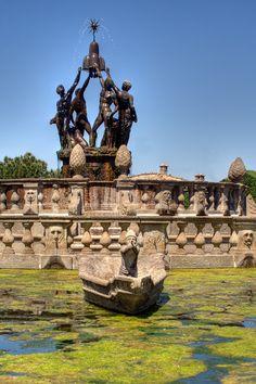 Italy, Gardens and Parks: Villa Lante, Bagnaia, Viterbo, Lazio