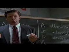 Glenngarry Glen Ross sales meeting - Alec Baldwin could have retired after this scene.