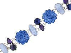 blue bracelet shells