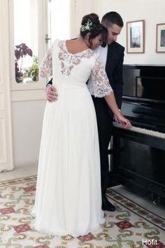 Plus size wedding gowns 2016 hofit (2)