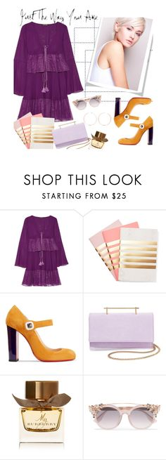 """""""Just the way you are"""" by rachel ❤ liked on Polyvore featuring Roberto Cavalli, StudioSarah, Christian Louboutin, M2Malletier, Burberry, Jimmy Choo and Anita Ko"""