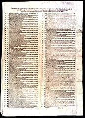 Martin Luther: 95 Thesen über die Kraft der Ablässe (95 Theses Luther's 95 Theses or Disputation on the Power and Efficacy of Indulgences), Nuremberg: Hieronymus Höltzel 1517, First edition (Facsimile of the original in the State Library in Berlin - Prussian cultural possession)