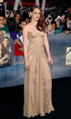 Robsten Dreams: Kristen Pic of the Day ~  I'll never get over how absolutely brilliant and stunning she looked, and that I was there to witness her beauty in person! -- BD2 Premiere LA, Nov 2012