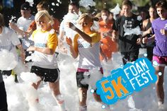 5K Foam Fest coming to Portland in July.  How many times in your life do you get to say you ran 5K through foam! Who's in?!