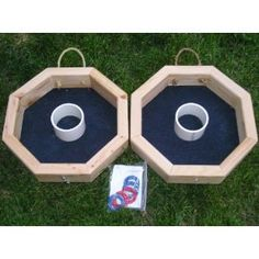 Custom Built Washer Toss Games Solid Wood by josuar192 on Etsy, $40.99