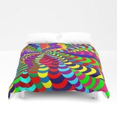 Buy 'Snake Spider' duvet covers by Notsundoku | Society6 #patterns #doodles #zenart #stripes #squiggles #notsundoku #society6 #brightenupourlife #brightcolors #brightcolours  #duvetCovers #bedrooms #homedecor