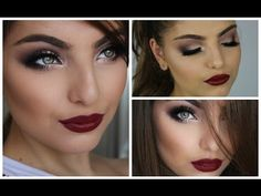 Heidi Hamoud is an absolutely amazing makeup artist. I love her Festive Holiday Makeup Tutorial on YouTube -- I can't get enough of a vampy lip these days!