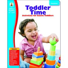 An indispensable resource for any early childhood program, Toddler Time: Classroom Activities for Active Toddlers contains safe hands-on activities that are educational, easy to set up, and fun for to