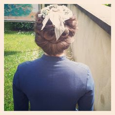Victorian hairstyle for a movie--pretty