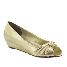 Dyeables by Benjamin Walk 31513 Anette, Gold, Metallic