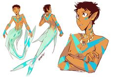 Ice Cream Can Fix Anything — Watercast inspired Mer!Lance