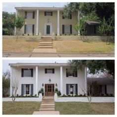 Before and after Southern style