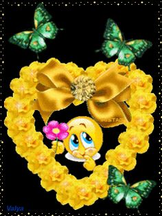 Smileys, Birthday Emoticons, Happy Smiley Face, Emoji Characters, Love Heart Images, My Little Nieces, Smiley Emoji, Good Night Gif, Beautiful Love Pictures