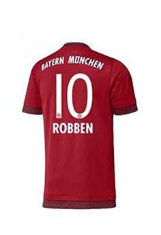 Adidas camiseta de fútbol para niños del FC Bayern 2016 - Robben 10 - L #regalo #arte #geek #camiseta