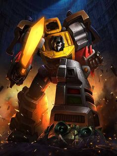 When it comes to Autobots and Decepticons, these are the best of the best. Make your dream team of robots in disguise in TRANSFORMERS: Battle Tactics. Grimlock Transformers, Transformers Characters, Fanart, Optimus Prime, Comic Book Characters, Comic Books, Ghostbusters, Anime Comics, Dream Team