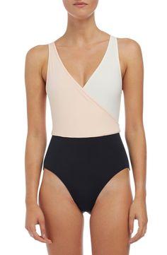 'The Ballerina' Colorblock One-Piece Swimsuit