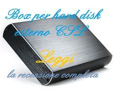 Box hard disk esterno CSL: resistente agli urti, semplice da montare, comodo da usare, oltre che al top nella velocità di trasferimento dei dati. http://harddiskesternohd.com/box-hard-disk-csl/