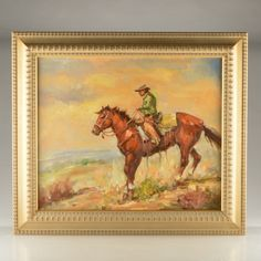 Ken Lawson oil painting....