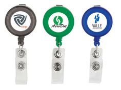 Round Retractable Badge Holder at Badges | Ignition Marketing Corporate Gifts