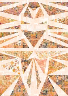 geo print pattern Textile Prints, Textiles, All Print, Photo Art, Print Design, Print Patterns, Design Inspiration, Quilts, Photos