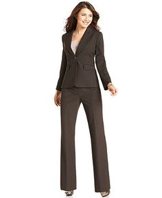 Calvin Klein Single-Button Stretch Suiting Jacket & Madison ...