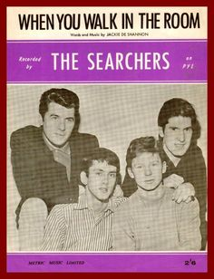 SIXTIES BEAT: The Searchers Rock N Roll Music, Rock And Roll, Music Covers, Album Covers, Gerry And The Pacemakers, The Searchers, British Rock, Old Music, British Invasion
