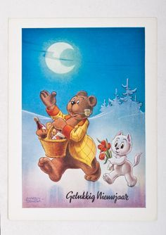 Dutch Language, Art Drawings, Drawing Art, Great Paintings, Comic Artist, Comic Strips, Cartoon Characters, Vintage Posters, Winnie The Pooh