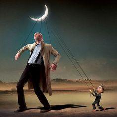 El lado oscuro de la sociedad retratado en 29 ilustraciones