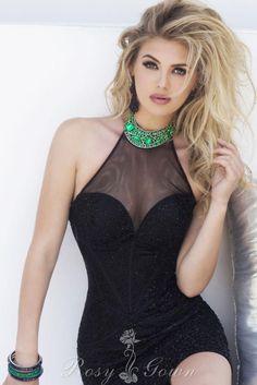 charming beaded black sheer #sweetheart #bodycon #cocktail #dress