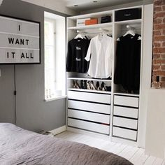 I want it All.