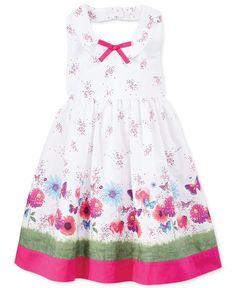 Blueberri Boulevard Little Girls' Floral Halter Dress - Kids - Macy's